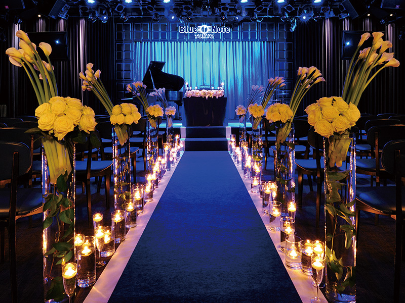 BLUE NOTE WEDDING