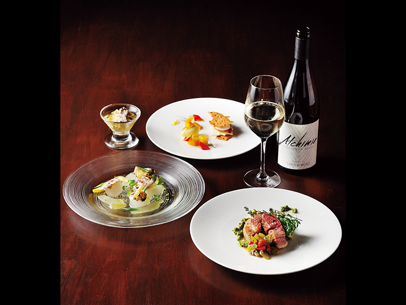 響き合い調和する、ワインと料理