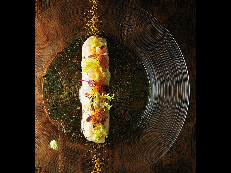 [RECIPE]炙り帆立とお米のサラダのデュオ