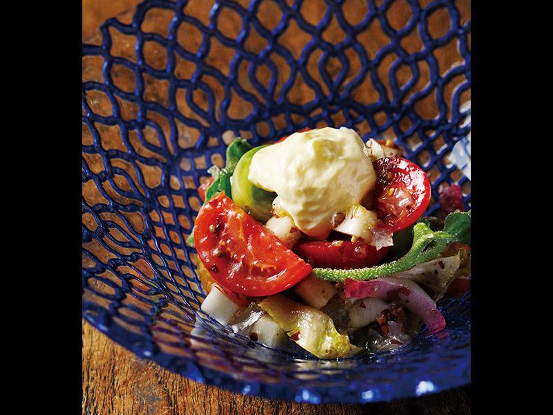 トマトを超えるトマトサラダ
