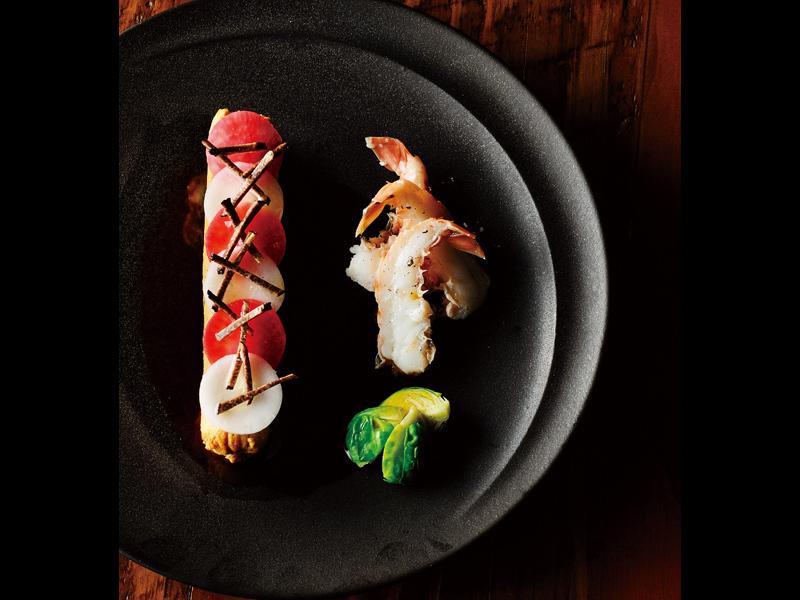 フレンチタッチで華やかに紡ぐ魚介のブーダン